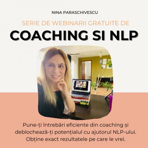 Webinarii gratuite de Coaching și NLP